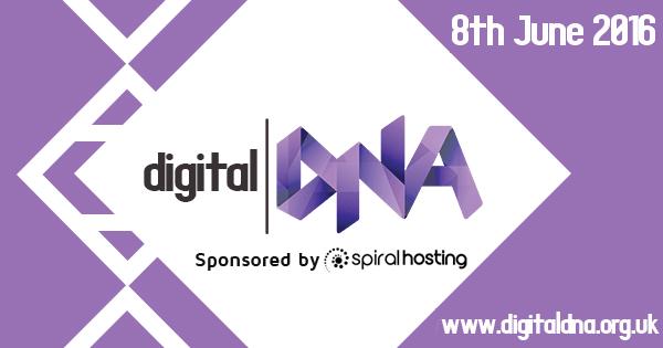 Digital DNA 2016 sponsored by Spiral Hosting!